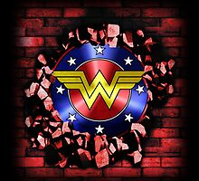 Wonder Woman Shield by dsalinasdesigns