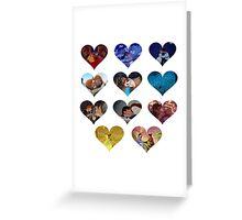Hearts of Magic Greeting Card