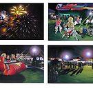 The carnival, Brunswick Heads Fish & Chip Festival by maria paterson