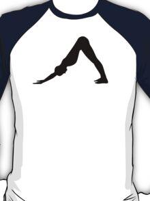 Yoga Pilates girl T-Shirt