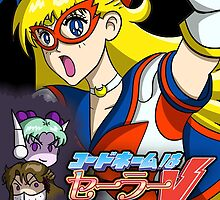 Codename Sailor V Game Poster by SleepingPhoenix