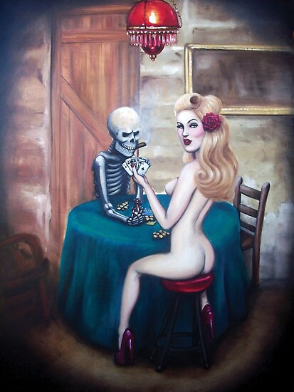 Strip poker by Isobel Von Finklestein