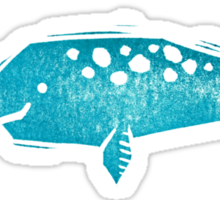 Narwhal Love Sticker
