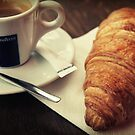 Coffee and a Croissant, please by Caroline Fournier
