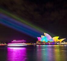 Sydney Opera House, 2014 Vivid Festival by avresa