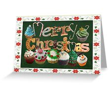 Xmas Cookies & Sweets (16159 Views) Greeting Card