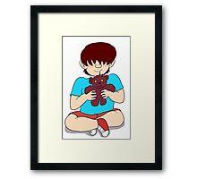 Beautiful Babies and Mental Teddies 3 Framed Print