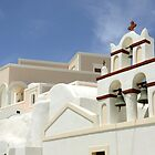 Architecture in Oia, Santorini, Greek Islands by avresa