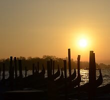 Sunrise in Venice, Italy by avresa