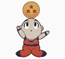 Dragon Ball Z Krillin by ribbon-bubbles