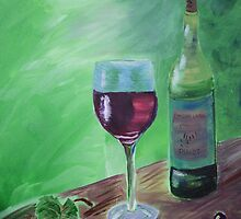 Finger Lakes Wine by Susan Waby