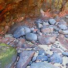In the Mouth of a Cave, Tolsta Beach by kathrynsgallery