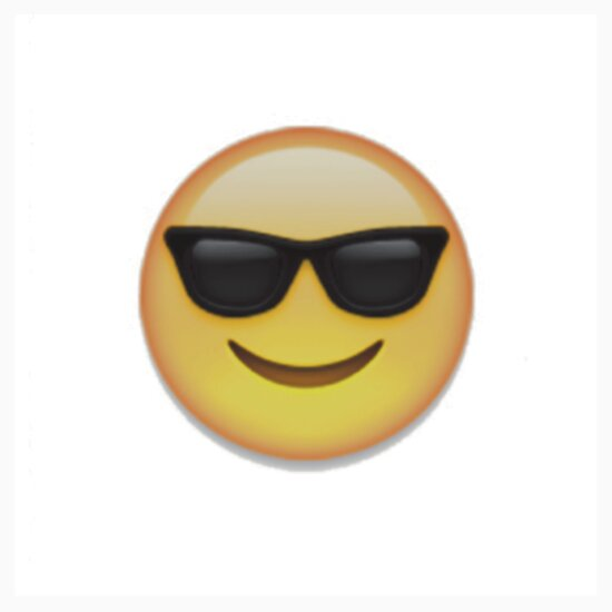 "Cool Talk Bubble ""Sunglasses Emoji..."