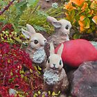 bunnies collecting colors for Easter * by DAdeSimone