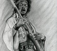 Hendrix by Roz Barron Abellera