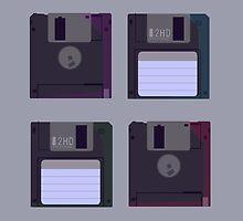 Floppies (Light) by heatherdraws