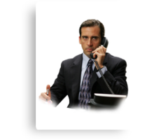 Michael Scott Canvas Print