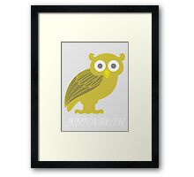 Annabeth Chase in Yellow Framed Print