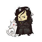 Jon Snow by exeivier