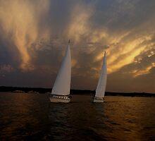 Tandem Sailing 2 by cbeers5009