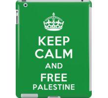 FREE PALESTINE iPad Case/Skin