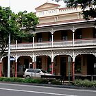 Palace Hotel, Childers, Queensland by Margaret  Hyde