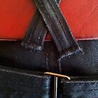Fancy jeans, red belt by jezkemp