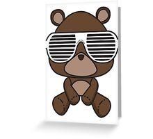 Boss Bear Greeting Card