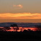 Kyabram Sunset by Jeanette Varcoe.