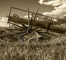 Wrecked Wagon.... Of Days Gone By, by jenkeating1