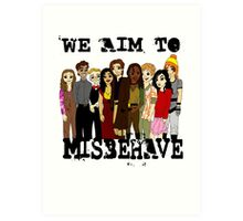 Magically Misbehaved Art Print