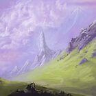 Mountains by Brandon  Riddoch