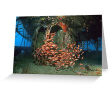 Lesleen M - Superstructure Greeting Card
