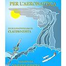 Oreste Genta - Una vita per l'Aeronautica - Official poster by CLAUDIO COSTA