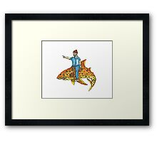 Life Aquatic - Steve Zissou Framed Print
