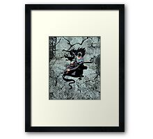 The Flying Shadow Framed Print