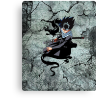 The Flying Shadow Canvas Print