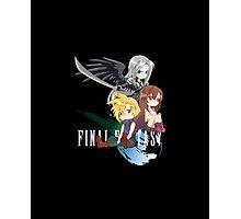 Final Fantasy VII - Chibilette Photographic Print