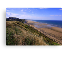 Saltburn on Sea, from the Cleveland Way Trail, North North Yorkshire, England/ Canvas Print