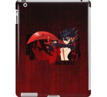 Red Scissor Blade iPad Case/Skin
