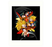 Dragon Ball Z - Son Goku Art Print