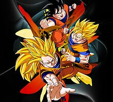 Dragon Ball Z - Son Goku by coffeewatson