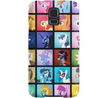 Pony Blocks Samsung Galaxy Case/Skin