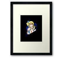 Fairy Tail - Lucy Heartfilia Framed Print