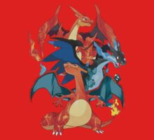 I Mega Charizard Kids Clothes