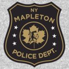 The Leftovers - Mapleton Police Department  by BenFraternale