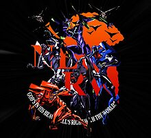 Evangelion - Mecha United by coffeewatson