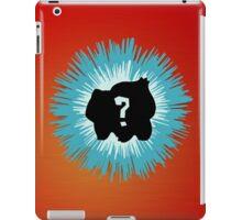 Who's that Pokemon - Bulbasaur iPad Case/Skin