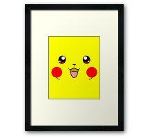 Eyes on Me - Pikachu Framed Print