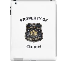 Property of Mapleton Police Dept. - The Leftovers iPad Case/Skin